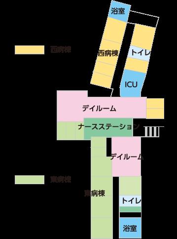 外来の案内図
